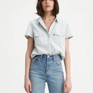 Levi's Short Sleeve Western Shirt